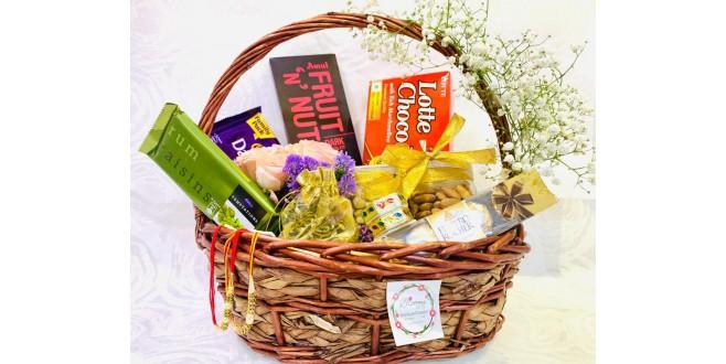 Be My Choco Pie Rakhi Gift Hampers