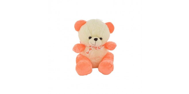 small orange teddy