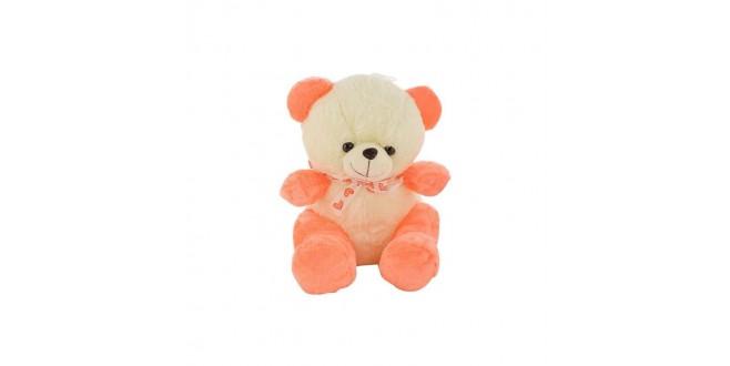 small orange teddy