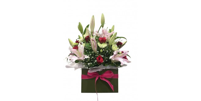 Contemporary Floral Arrangement