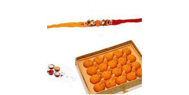 Rakhi And Motichur Ladoo