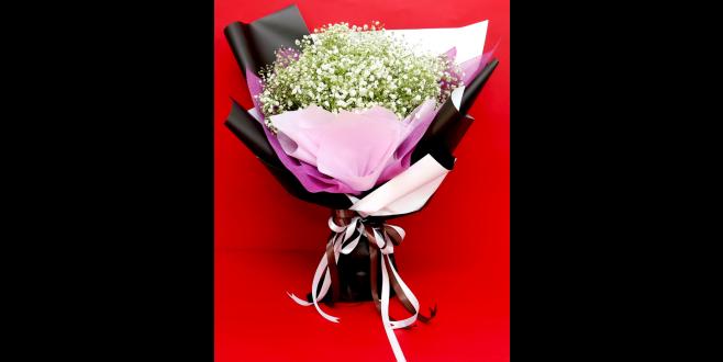 Everlasting Love - Gypso Flower Hand Bouquet