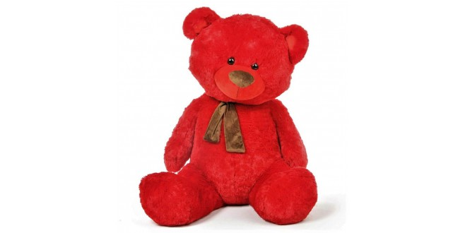Lovable Red Teddy Bear