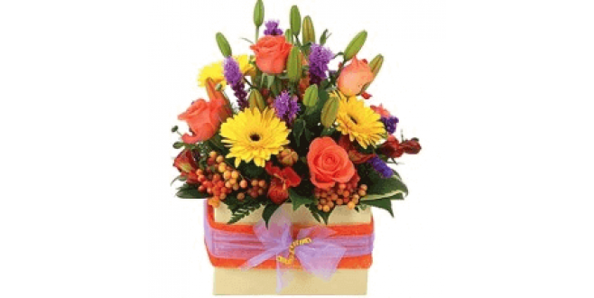 Mixed Flowers Box