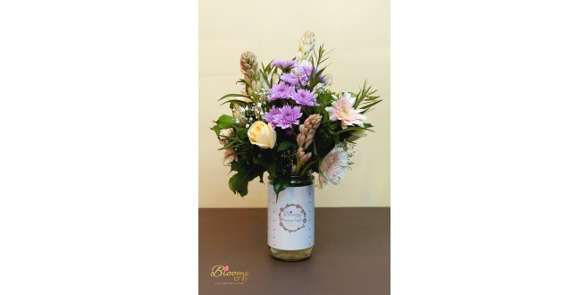 Mixed Flower Vase Bouquet