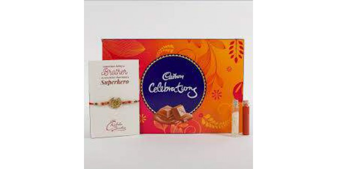 Rakhi Cadbury Celebrations Combo