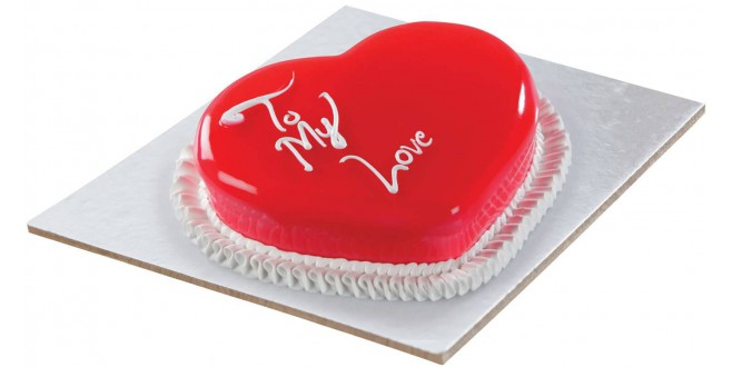 White Heart Cake(1kg)