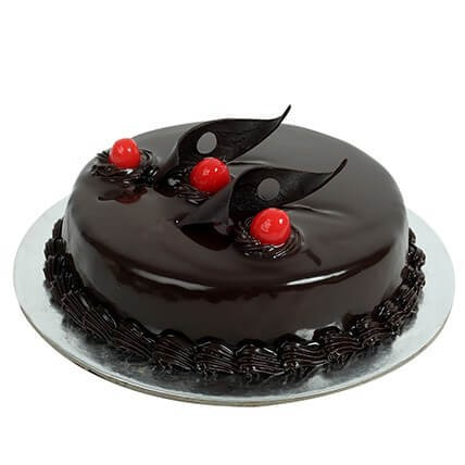 Dark Chocolate Cake (1/2Kg)