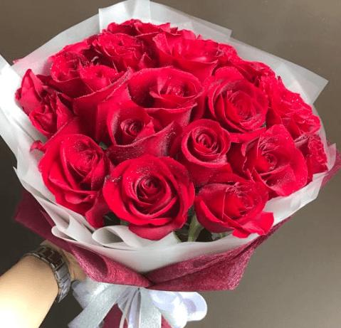 Valentine's 20 Red Rose Bouquet