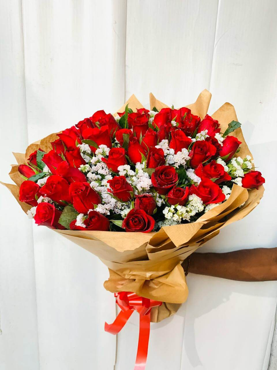Be Mine! - 50 Red Roses