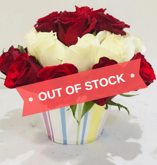 Rosy Cup Cake