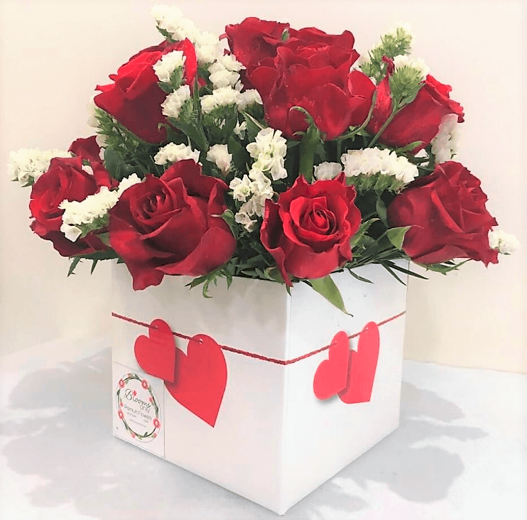 Heart Desire - 18 Red Roses Box