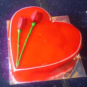 Heartiest Love Cake(1/2 kg)