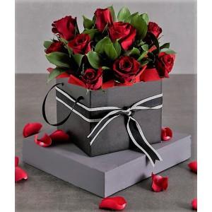 Rose Box Arrangement