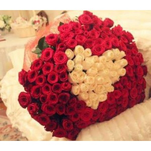 Unconditional Love Bouquet - 300 Red Roses
