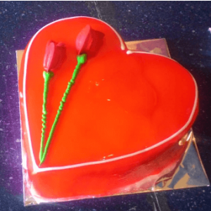 Heartiest Love Cake(1 kg)
