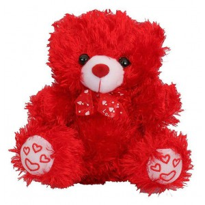 Small Red Teddy