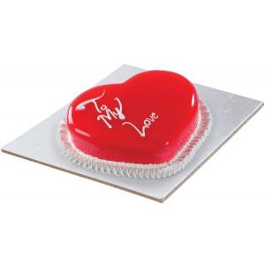 White Heart Cake(1/2kg)