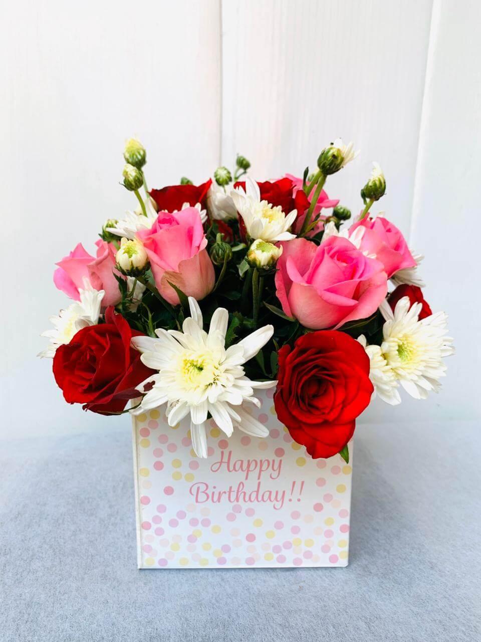 Send Happy Birthday Bouquet To Pune