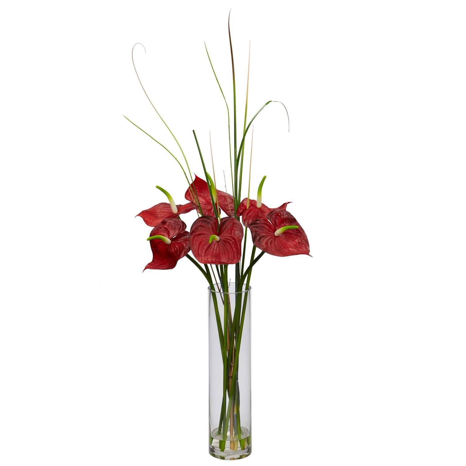 Artificial Anthurium Flower Arrangement