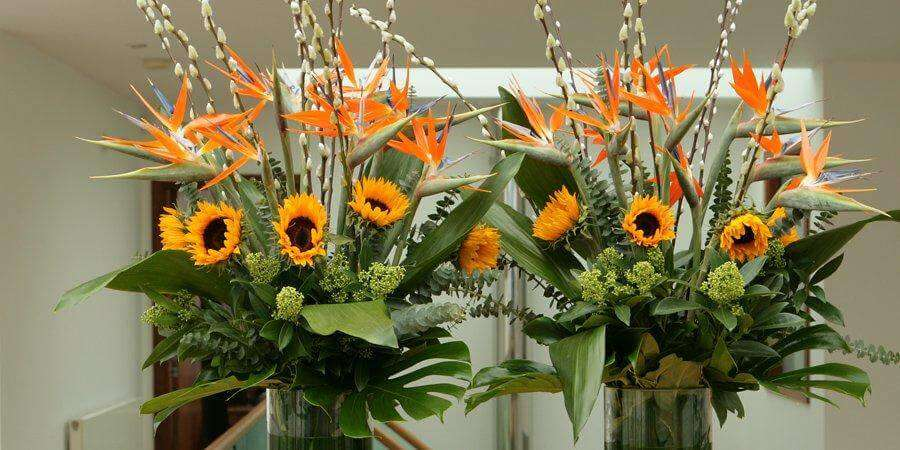 Corporate Fresh Flower Arrangement in Pune