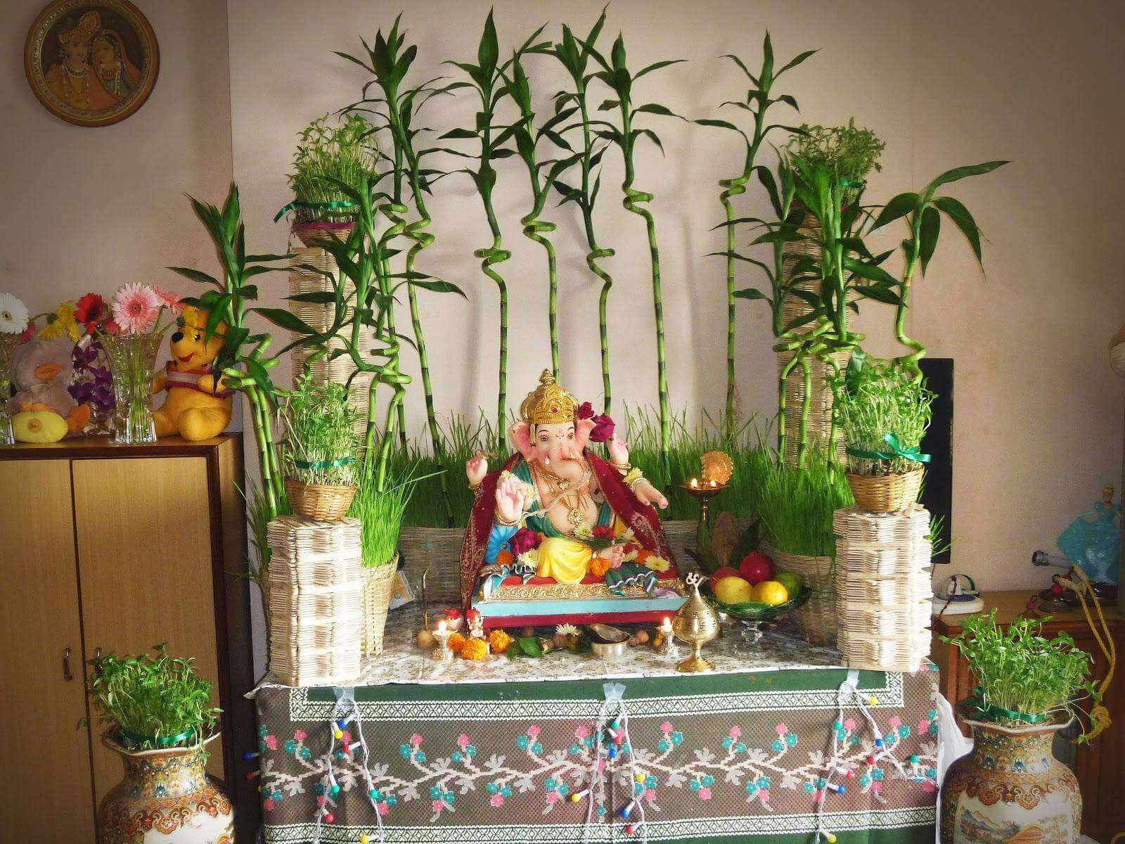 Ganpati Decoration Work