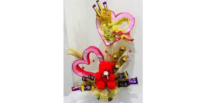 valentine day arrangement