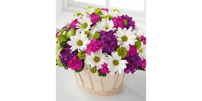 daisies flower arrangemet