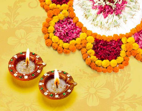 Flower decoration ideas for Diwali festival