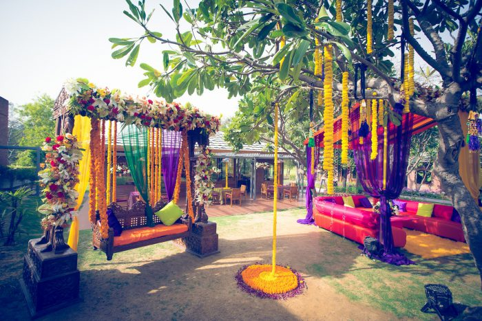wedding garden decoration