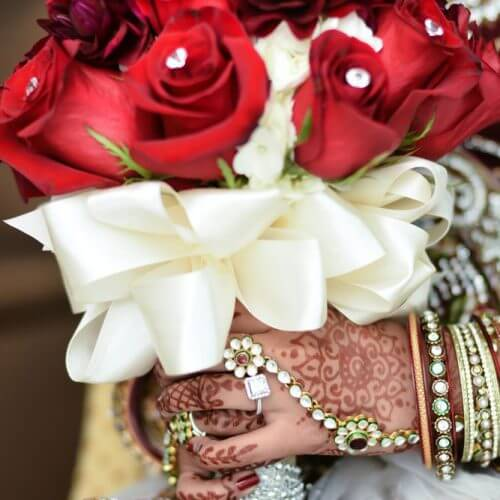 The Flower Giving Tradition in Indian Weddings