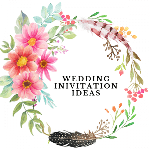 Different ways to add Floral to your Wedding Invitation