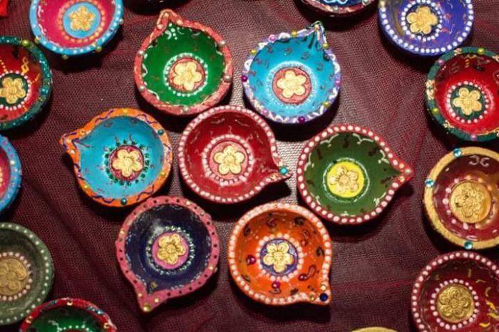 Hand-crafted Diyas