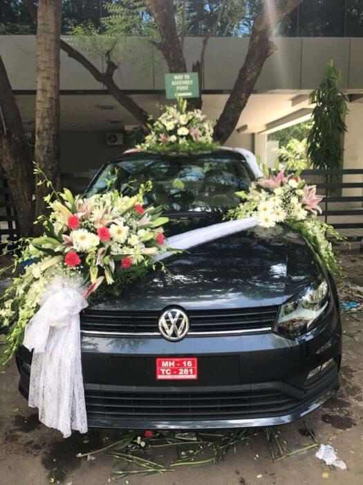 Floral Car Decoration in Pune