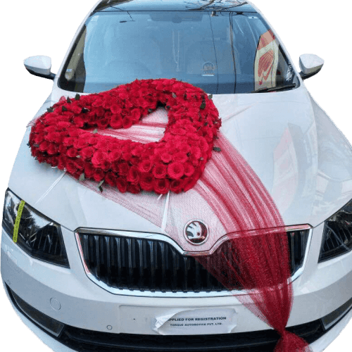 Top Five Unique Car Decoration with Flowers to Complement the Newlyweds