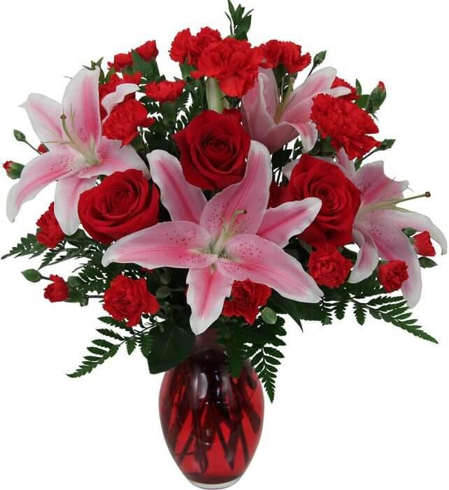 romantic-flowers-bouquet