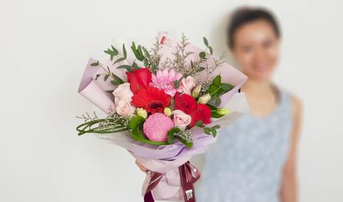 bouquet for her