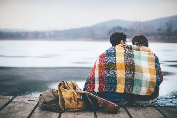 Outdoor romantic date